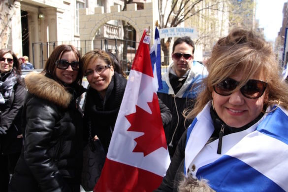 """(Photos) Montreal Students On the Road 24 Hours to March 24 Minutes in NYC Parade: """"But it Was All So Worth It"""""""