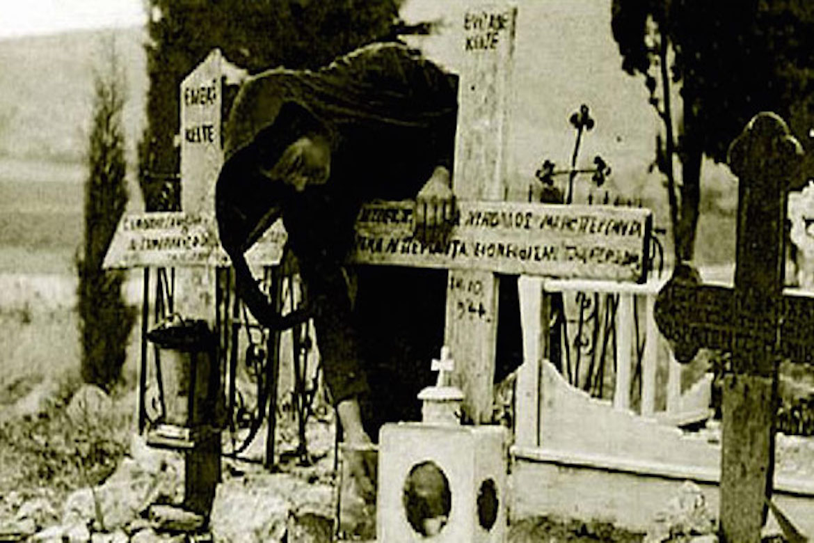 On This Day June 10, 1944: Haunting Images From Nazi Massacre at Distomo -  The Pappas Post