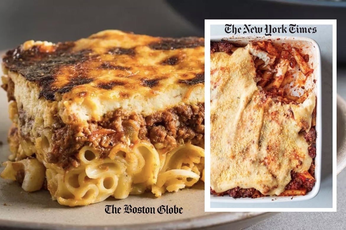 The Battle of the Pastitsios The New York Times or The Boston ...